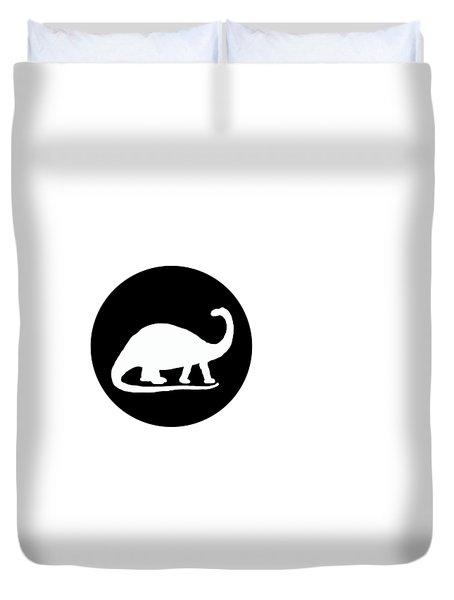 Brontosaurus Duvet Cover by Mordax Furittus