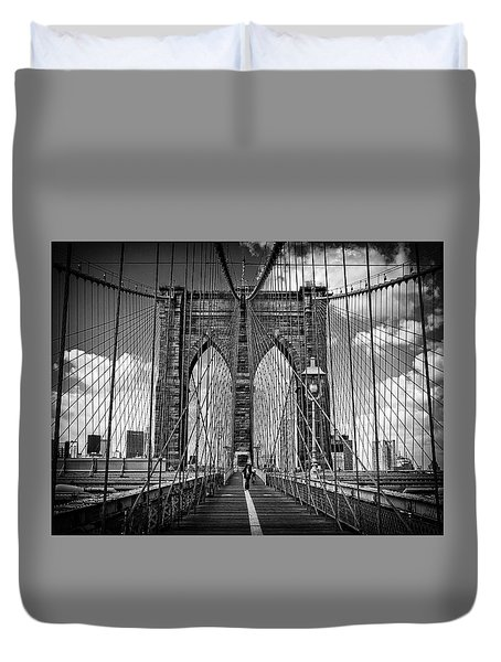 Brooklyn Bridge Duvet Cover