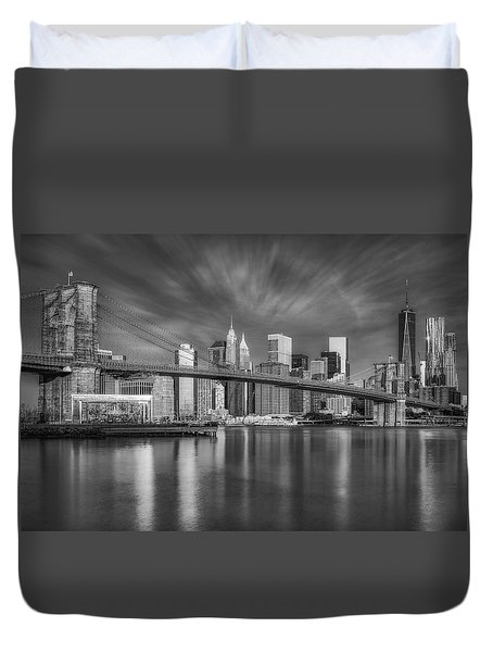 Brooklyn Bridge From Dumbo Duvet Cover