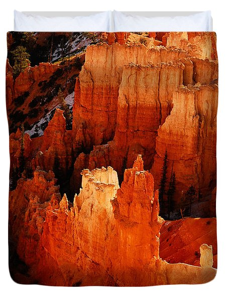 Bryce Canyon Duvet Cover by Harry Spitz