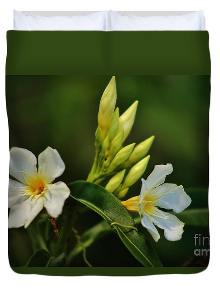 Buds And Blossoms Duvet Cover by Craig Wood