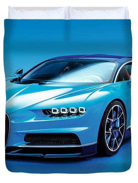 Bugatti Chiron 30 Duvet Cover