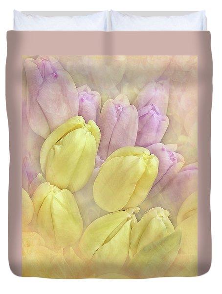 Burst Of Spring Duvet Cover