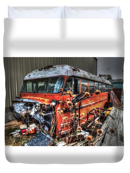 Bus Ride Duvet Cover