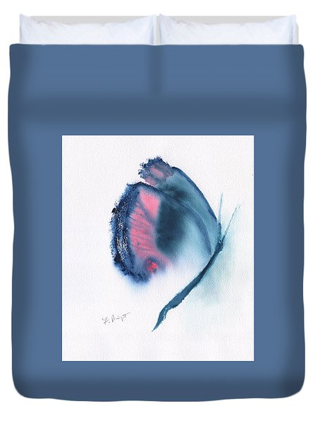Butterfly Abstract 3 Duvet Cover