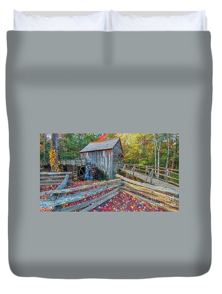 Cable Mill Duvet Cover by Geraldine DeBoer