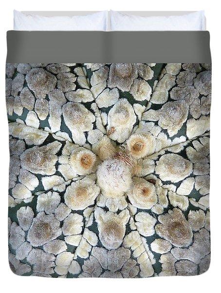 Cactus 2 Duvet Cover by Selena Boron
