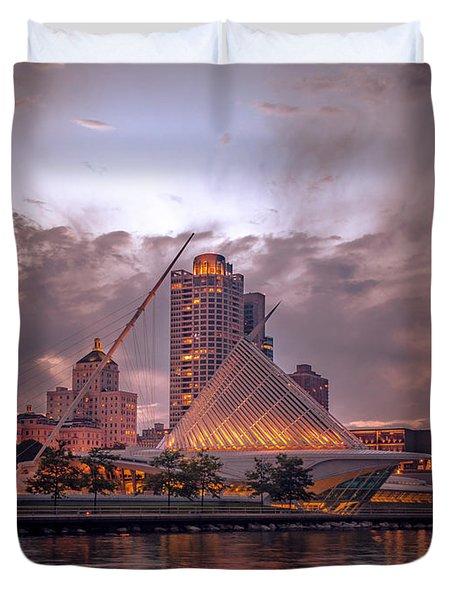 Calatrava Drama Duvet Cover