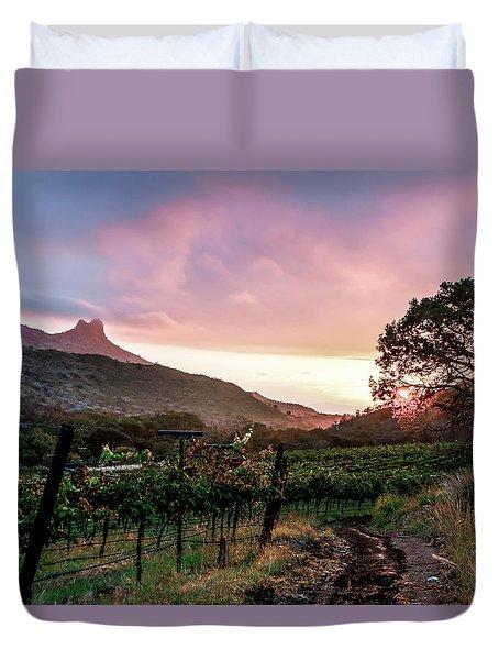 Colibri Sunrise Duvet Cover