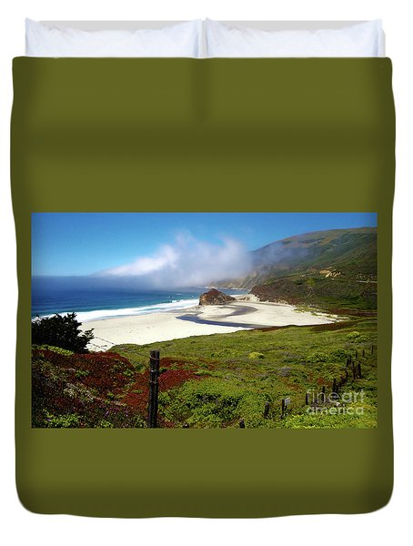 California Coast Duvet Cover by Gregory Dyer