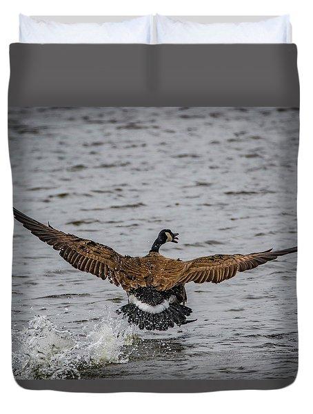 Canada Goose Duvet Cover by Ray Congrove