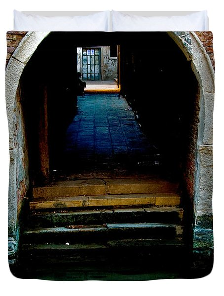 Canal Entrance Duvet Cover