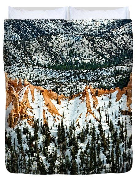 Canyon View Duvet Cover by Christopher Holmes