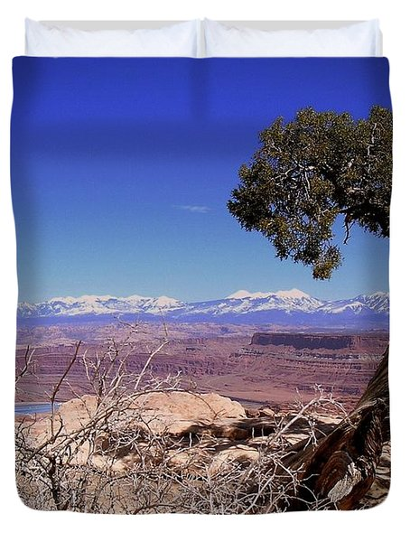 Canyonlands 4 Duvet Cover by Marty Koch