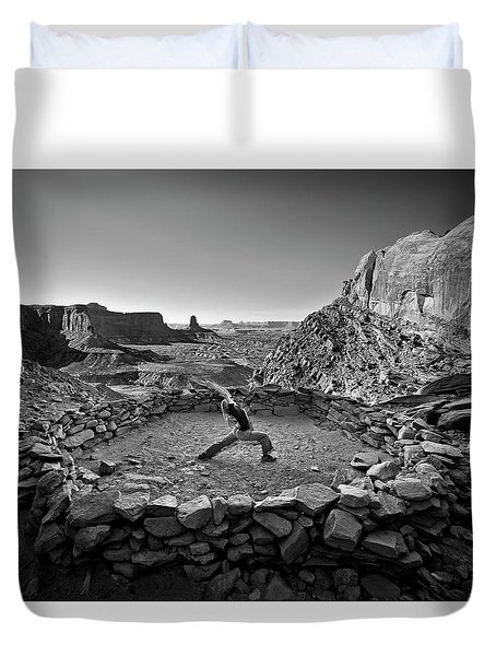 Canyonlands Kiva Duvet Cover