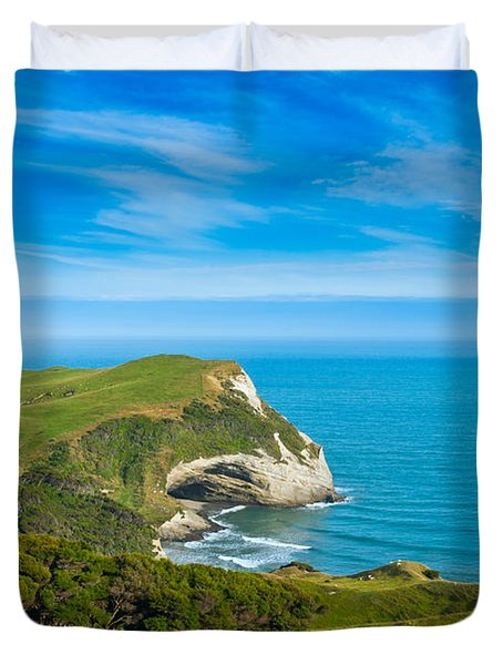 Cape Farewell Able Tasman National Park Duvet Cover