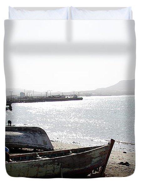 Cape Verde Duvet Cover