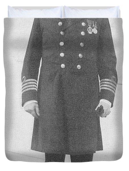 Captain Edward John Smith Rd Rnr Duvet Cover