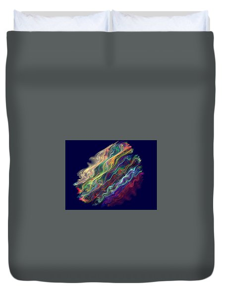 Captive Waves Duvet Cover
