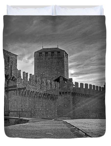 Castle Duvet Cover by Joana Kruse