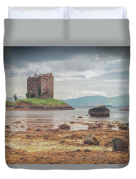 Castle Stalker Duvet Cover