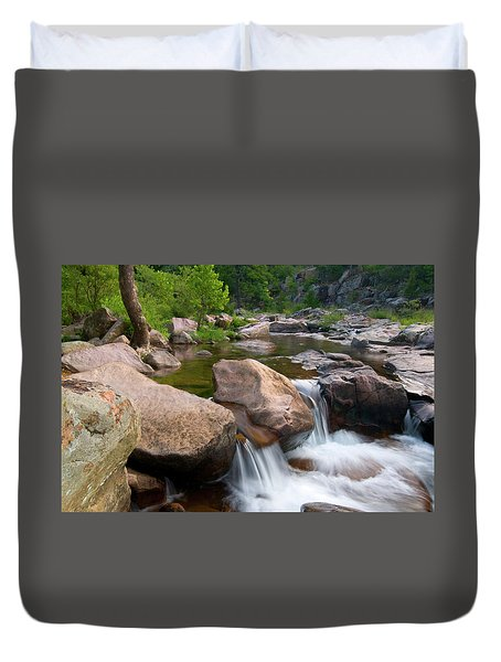 Castor River Shut-ins Duvet Cover