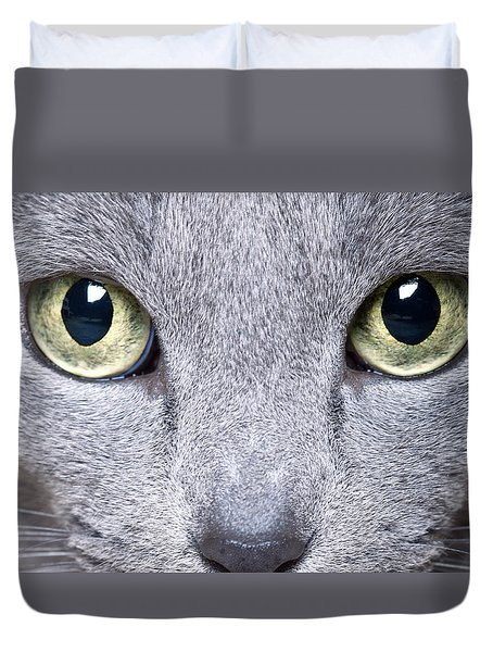 Cat Eyes Duvet Cover