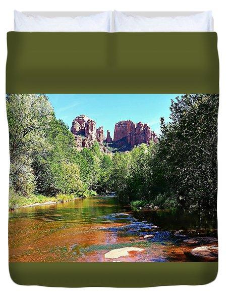 Cathedral Rock - Sedona, Arizona Duvet Cover