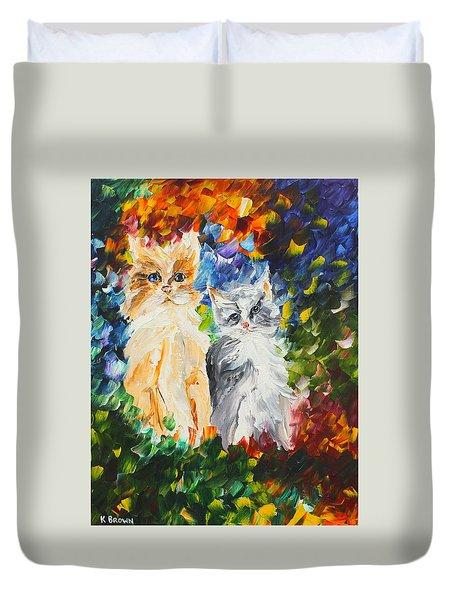 Cats Duvet Cover