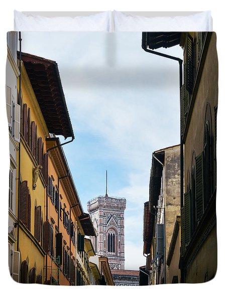 Cattedrale Di Santa Maria Del Fiore, Florence Duvet Cover