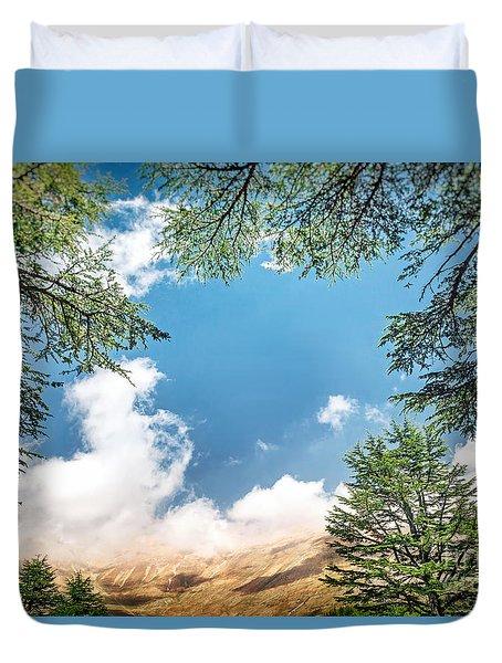 Cedars Of Lebanon Duvet Cover