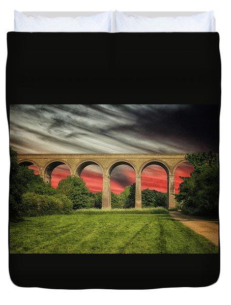 Chapel Viaduct Essex Uk Duvet Cover