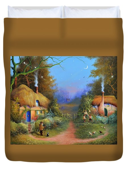 Chasing Fairies Duvet Cover