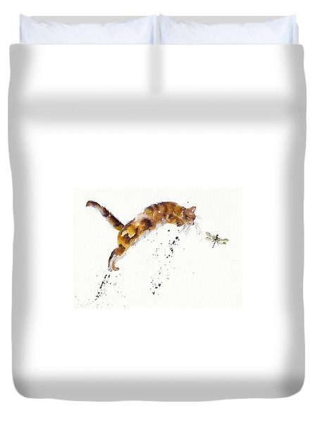 Chasing The Dragon Duvet Cover