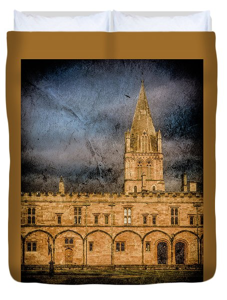 Oxford, England - Christ Church College Duvet Cover