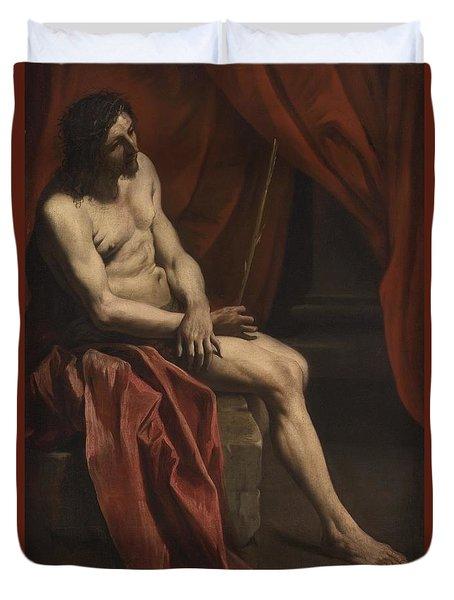 Christ Mocked Duvet Cover