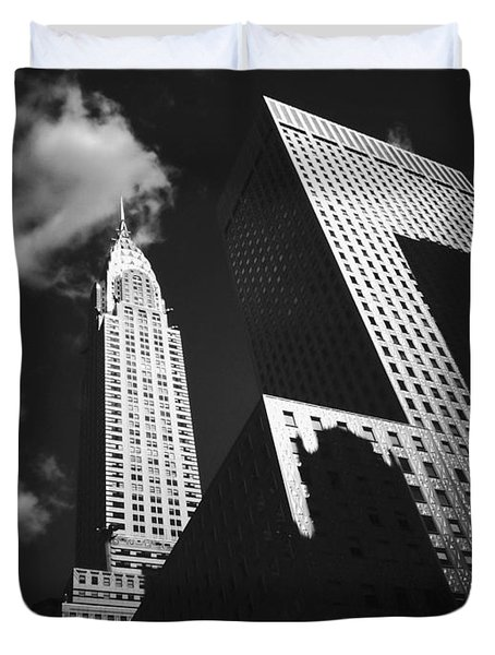 Chrysler Building - New York City Duvet Cover