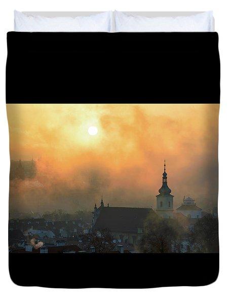 Church Of Our Lady Victorious, Prague, Czech Republic. Duvet Cover