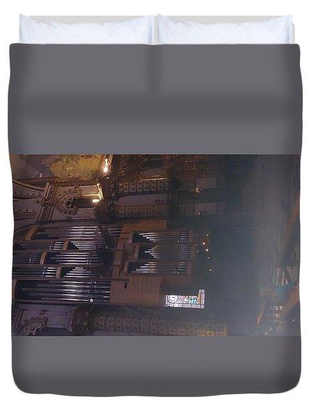 Church Organ  Duvet Cover