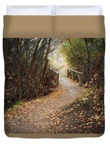 City Creek Bridge Duvet Cover