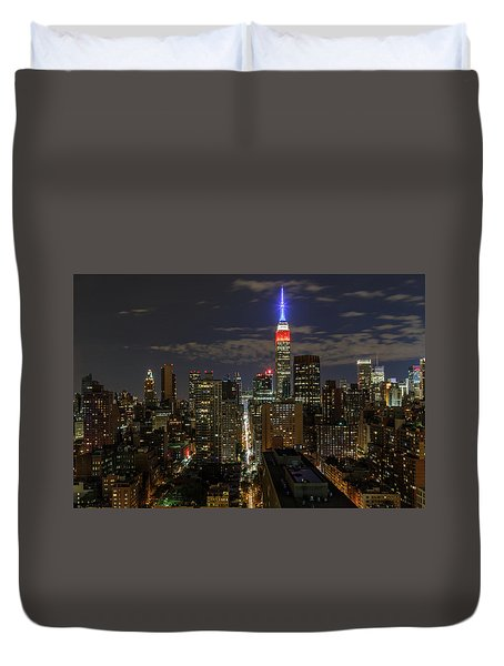 City Lights  Duvet Cover