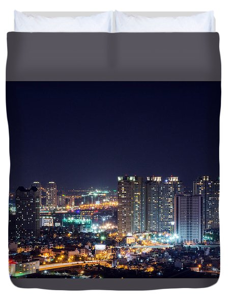 City Night Duvet Cover