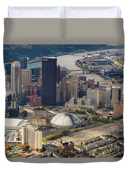 City Of Champions  Duvet Cover