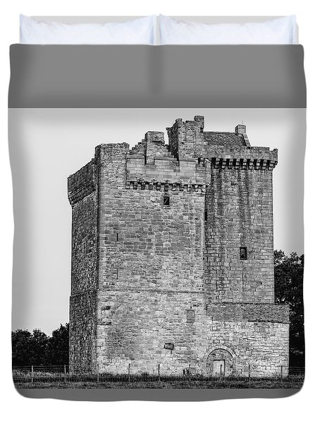 Clackmannan Tower Duvet Cover