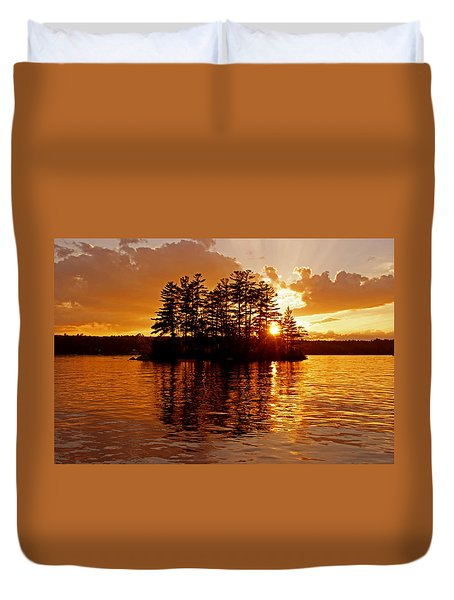 Clarity Of Spirit Duvet Cover
