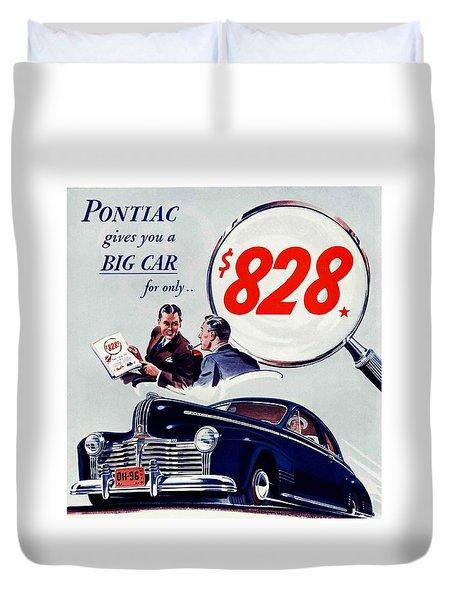 Duvet Cover featuring the photograph Classic Cars by Allen Beilschmidt