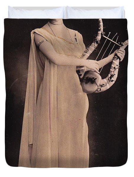 Cleo De Merode Duvet Cover