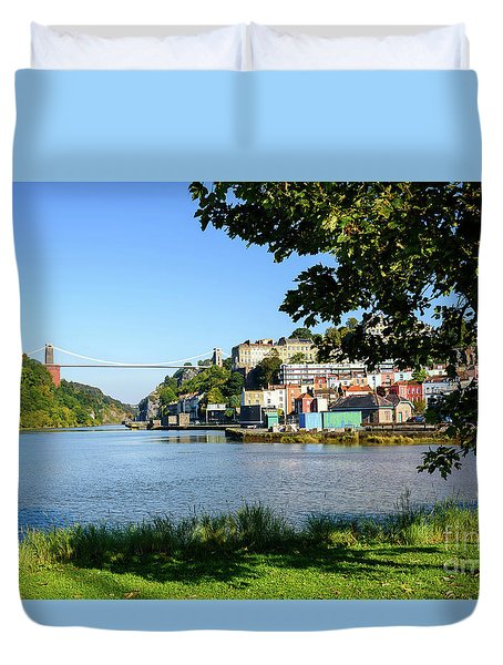 Clifton Suspenion Bridge Duvet Cover