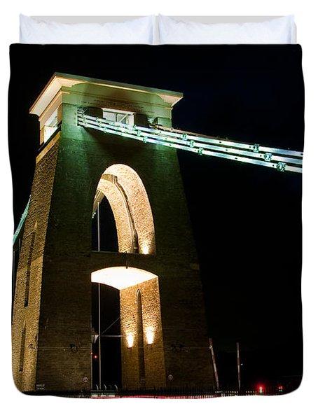 Clifton Suspension Bridge, Bristol. Duvet Cover