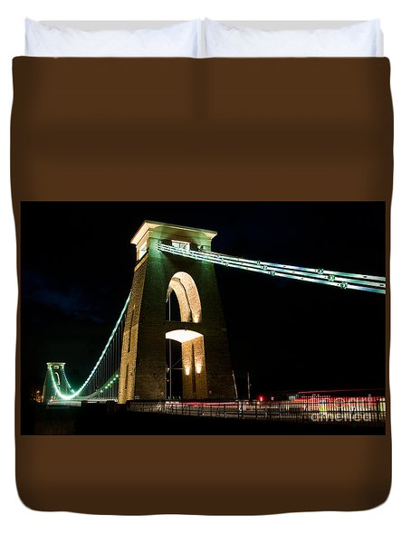 Clifton Suspension Bridge, Bristol. Duvet Cover